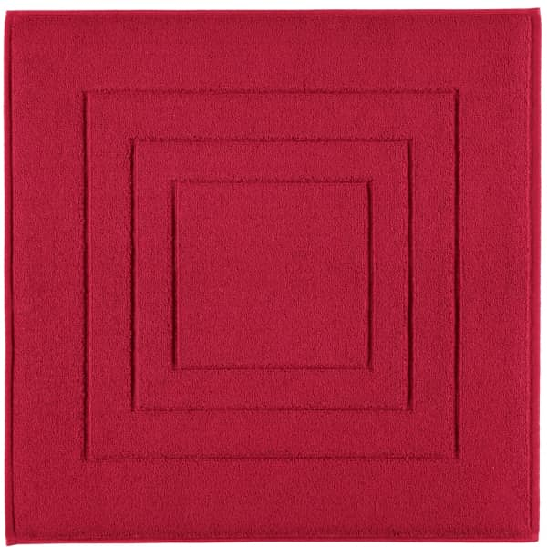 Vossen Badematte Calypso Feeling - Farbe: rubin - 390 60x60 cm