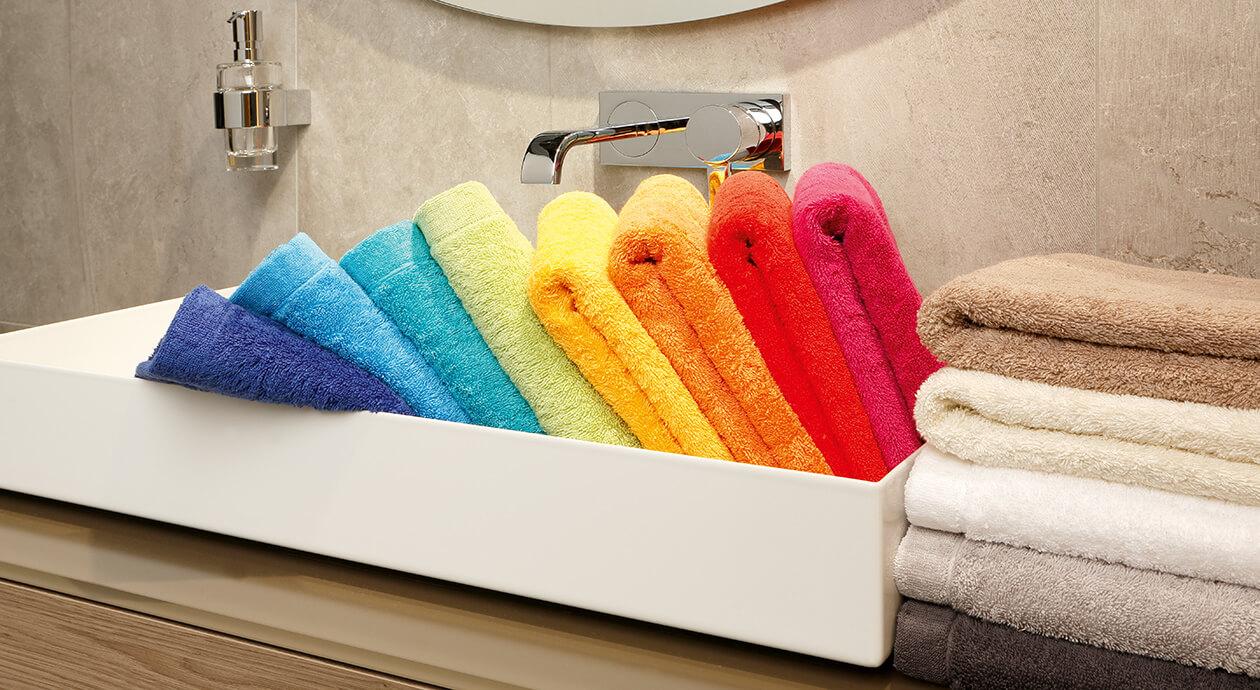 Cawö - Life Style Uni 7007 - Farbe: weiß - 600 Waschhandschuh 16x22 cm Detailbild 2