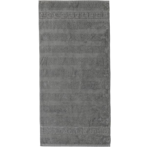 Cawö - Noblesse Uni 1001 - Farbe: 779 - graphit Duschtuch 80x160 cm
