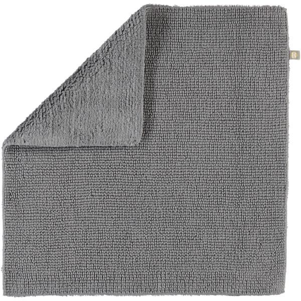 Rhomtuft - Badteppich Pur - Farbe: kiesel - 85 60x60 cm