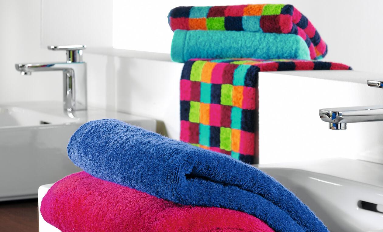 Cawö - Life Style Karo 7047 - Farbe: 37 - kiesel Duschtuch 70x140 cm Detailbild 3