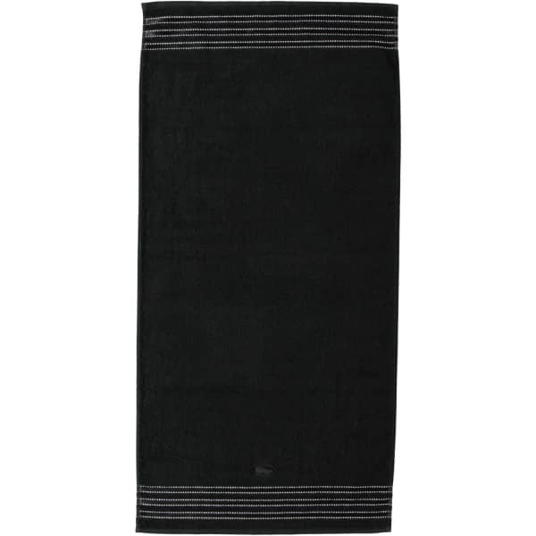 Vossen Cult de Luxe - Farbe: 790 - schwarz Handtuch 50x100 cm