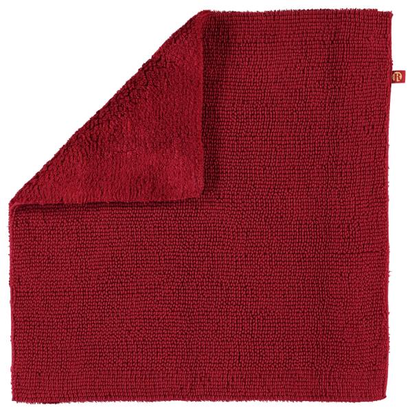 Rhomtuft - Badteppich Pur - Farbe: cardinal - 349 60x60 cm